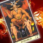 Descubre el significado de la carta de el Diablo en el Tarot